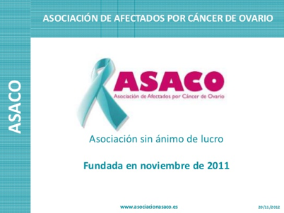 cancer ovario hereditario asaco 2013