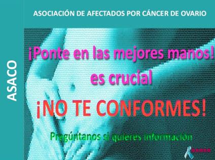 ginecologo oncologo ASACO cancer de ovario
