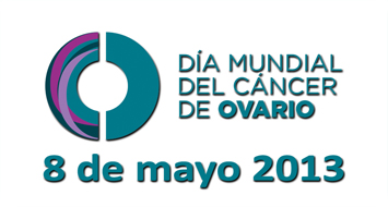 Logo Dia Mundial Cancer de Ovario ASACO 2013 web