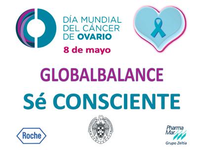 Pancarta 8 mayo dia mundial cancer de ovario ASACO
