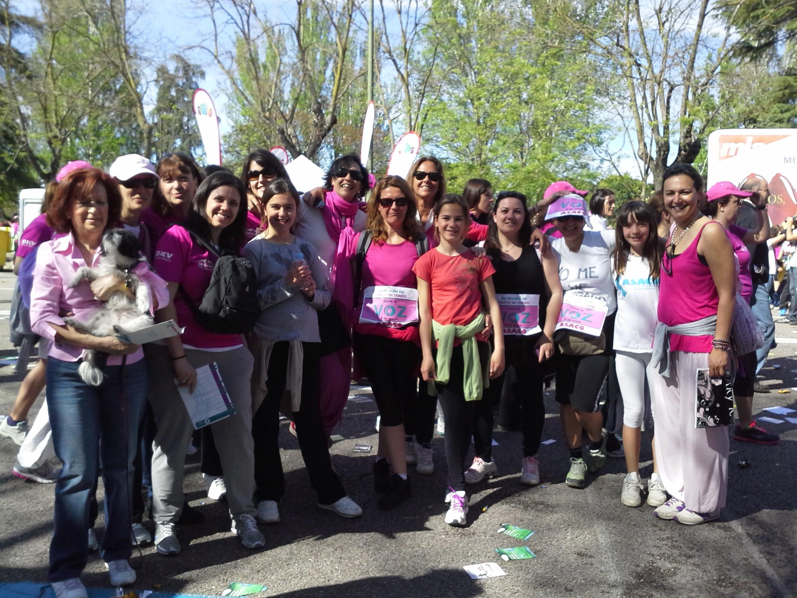 Carrera de la mujer ASACO 5 mayo  2013