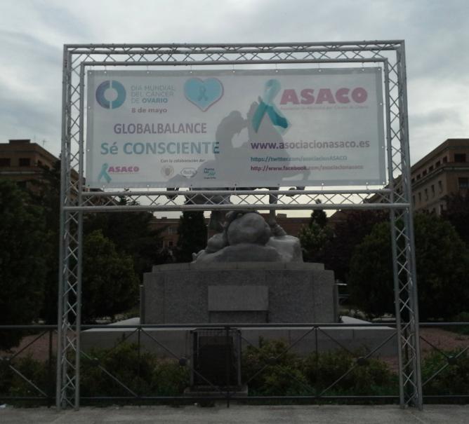 Dia Mundial Cancer Ovario ASACO 2013 Globalbalance 1
