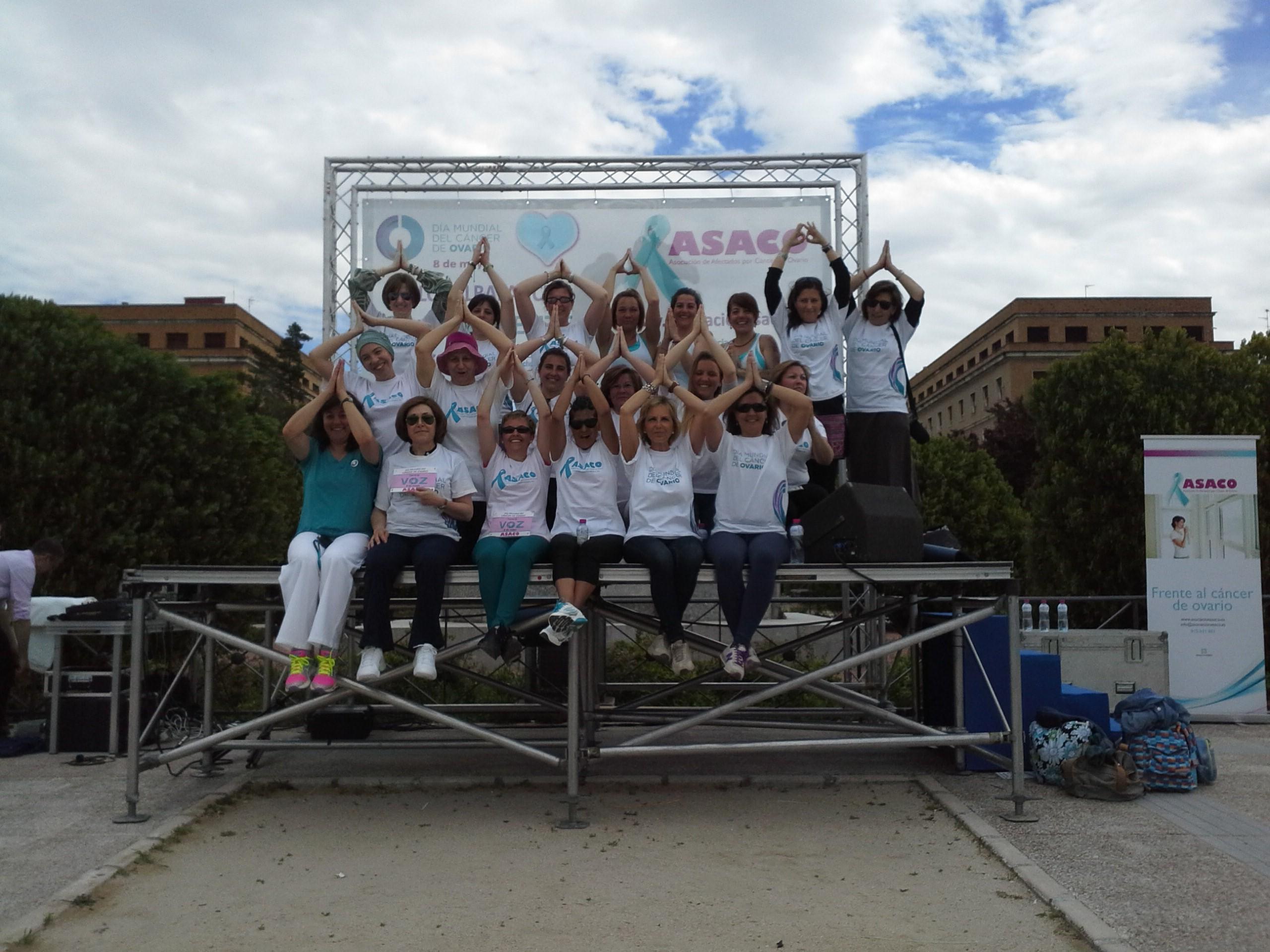 Dia Mundial Cancer Ovario ASACO 2013 Globalbalance 2