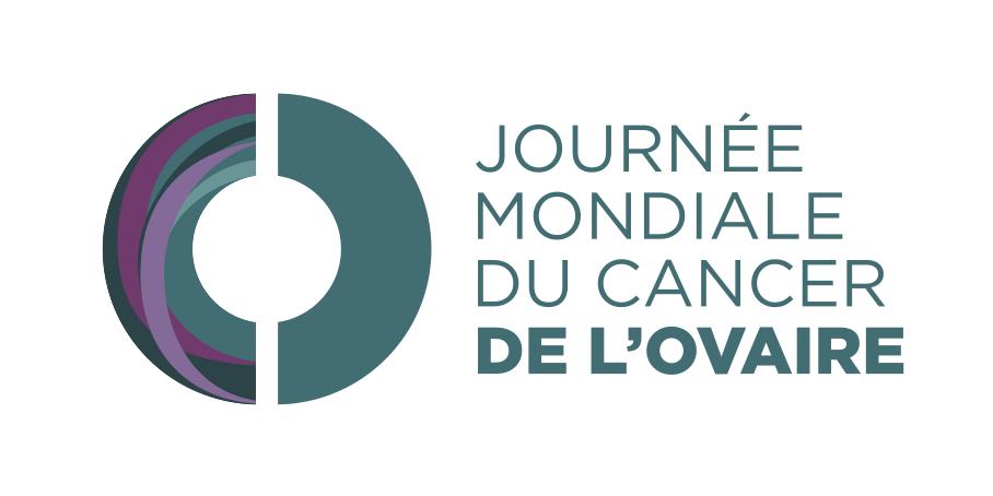 Logo frances Dia Muncial Cancer Ovario 8 mayo ASACO