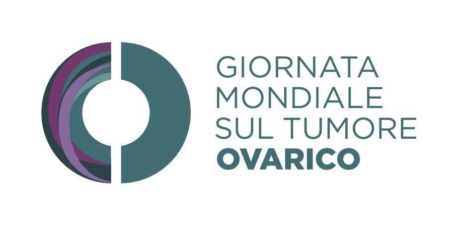 Logo italiano Dia Muncial Cancer Ovario 8 mayo ASACO