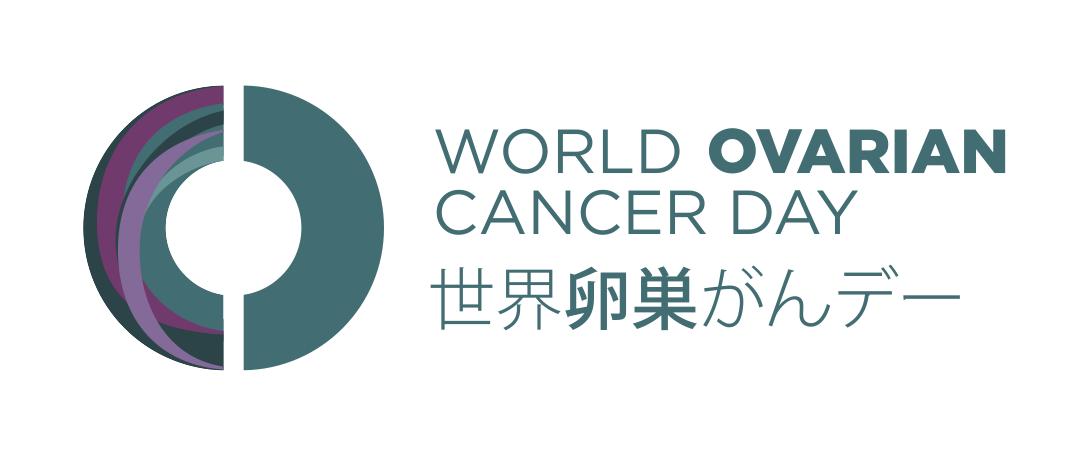 Logo japones Dia Muncial Cancer Ovario 8 mayo ASACO