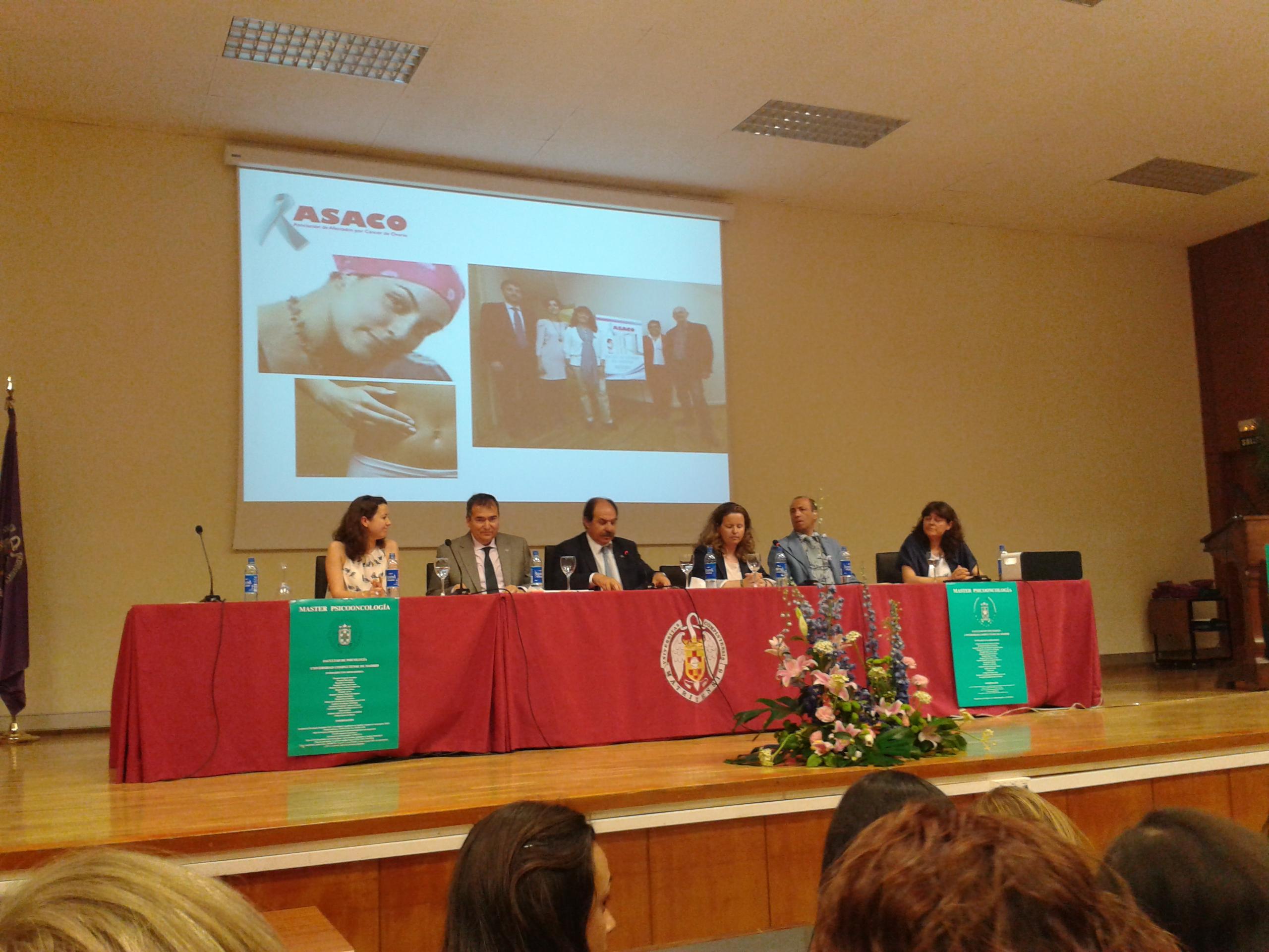 ASACO graduacion psicooncologia UCM 2013 mesa