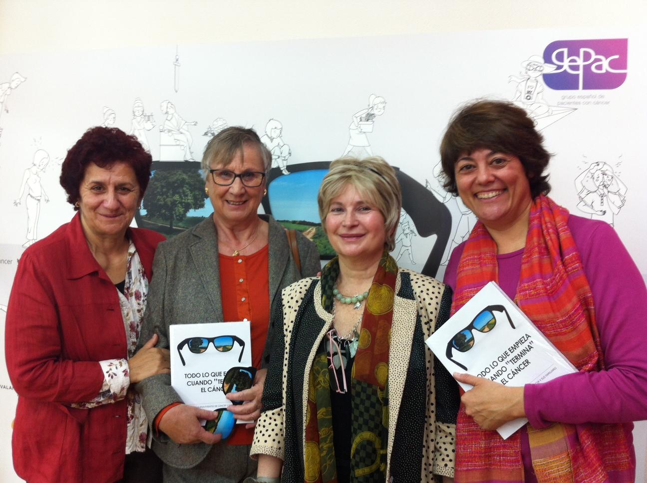 Gepac Presentacion Libro todo lo que empieza cuando termina el cancer ovario ASACO 2013
