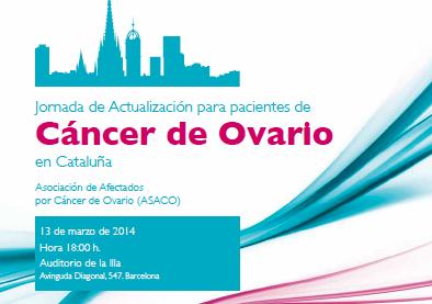 programa Barcelona-ASACO 13 marzo 2014 asaco cancer ovario 1