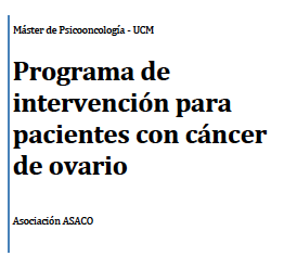 Programa intervencion ana preysler cancer ovario asaco 2014