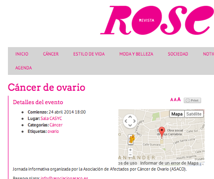 Revista Rose CASYC ASACO Santander