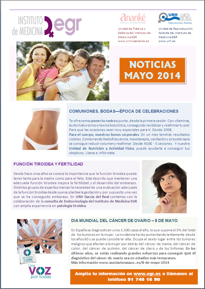 Difusion EGR DMCO ASACO NEWSLETTER MAYO 2014