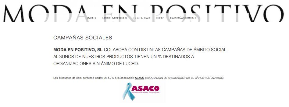 Difusion Moda en positivo ASACO 2014