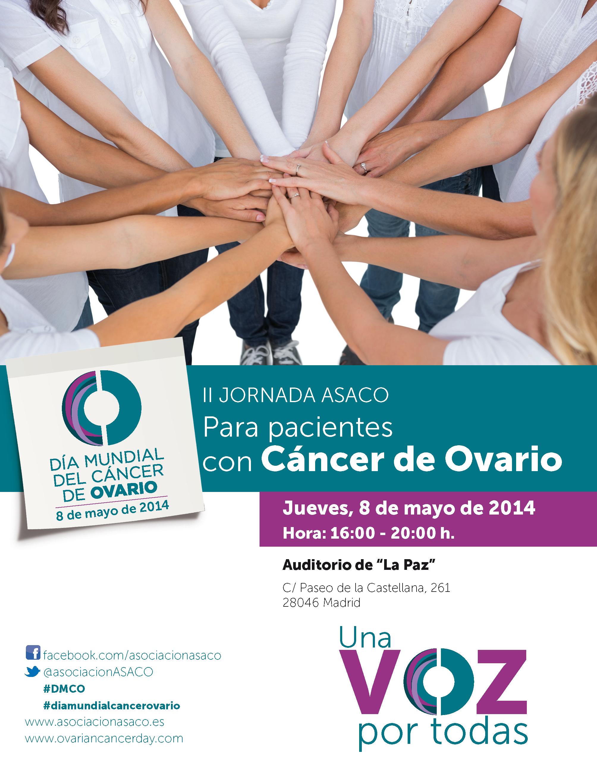 Poster previo DMCO 8 mayo 2014 cancer vario ASACO