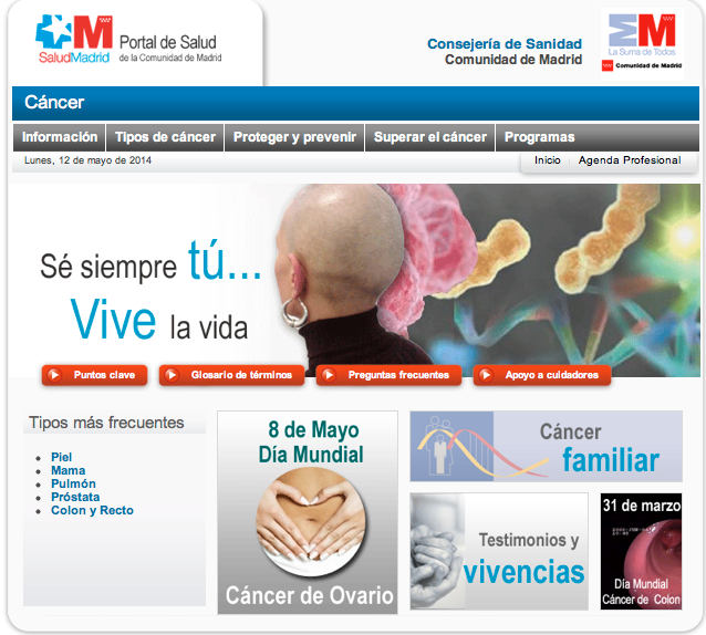 Difusion DMCO SERMAS cancer ovario ASACO 2014 1