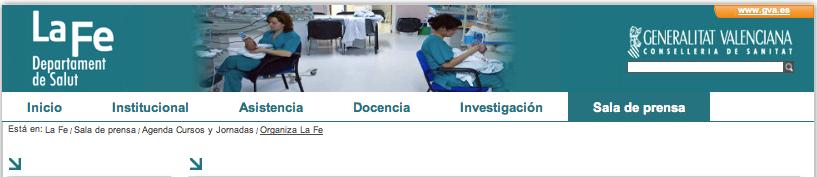 Hospital La Fe Valencia ASACO dia mundial cancer ovario 2