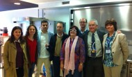RP rueda prensa Vall d hebron ASACO Jorda Balaguer dia mundial cancer ovario 2014 equipo vall paz