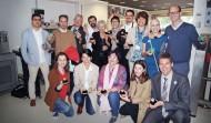 RP rueda prensa Vall d hebron ASACO Jorda Balaguer dia mundial cancer ovarrio 2014 grupo