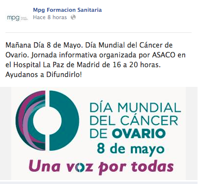 difusion mpg dia mundial cancer ovario 2014