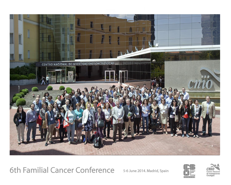 CNIO Familial conference ASACO 5-6 junio 2014 ASACO cancer ovario