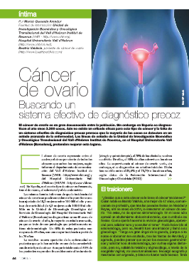revista introversion nº 38 junio-agosto pag 44 2014 asaco cancer ovario