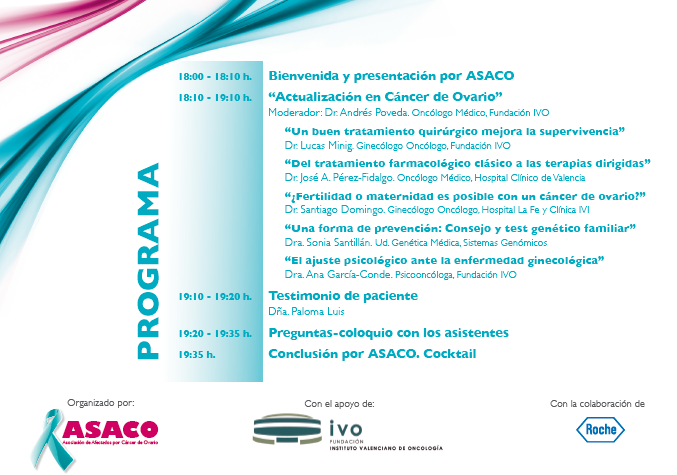 Programa Valencia ASACO 2014