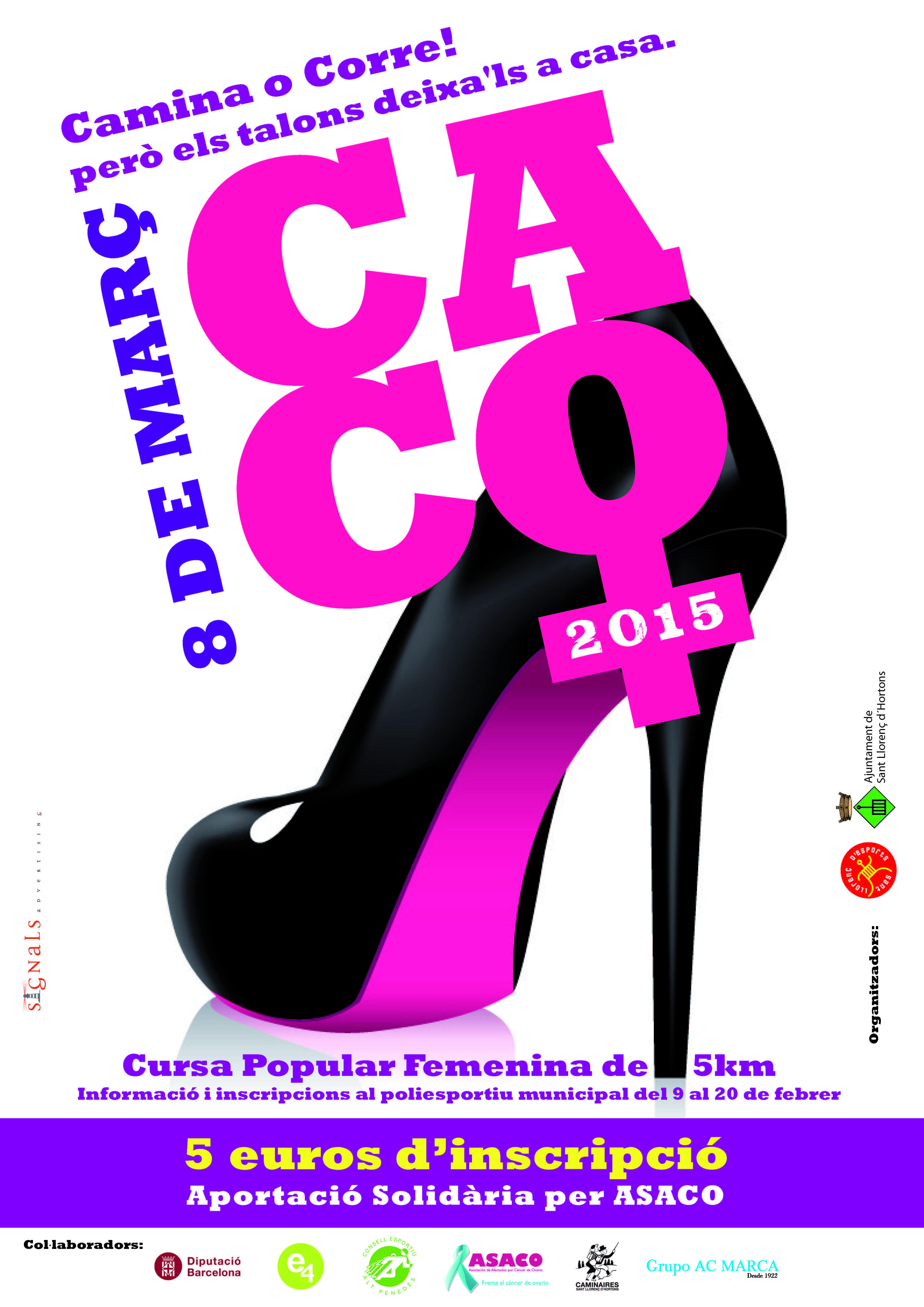 II CACO 2015 donacion carrera ASACO cancer ovario