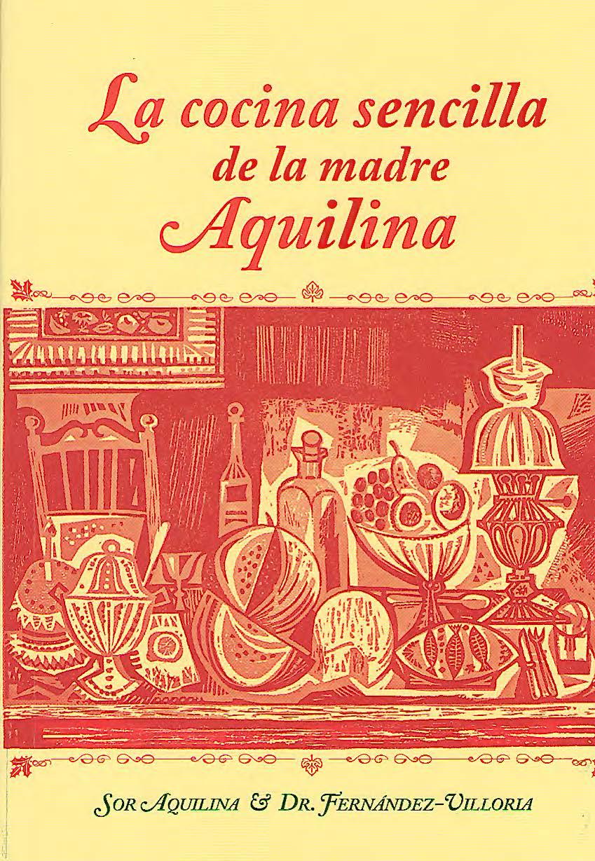 Libro cocina Aquilina