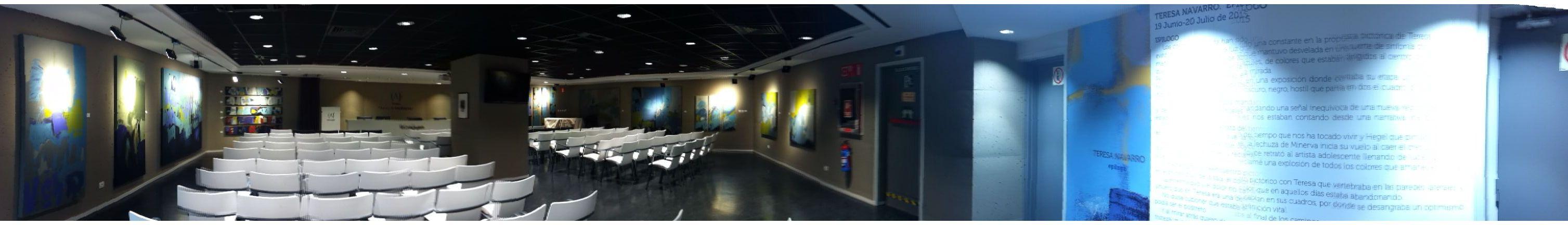 Sala Ambito Cultural Corte Ingles Angela Navarro