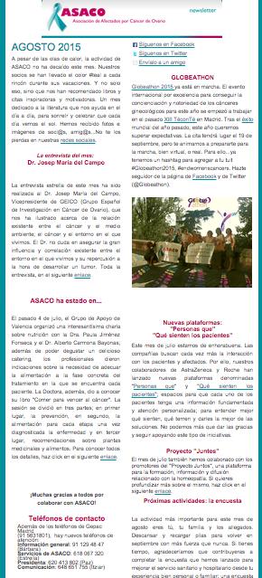 newsletter asaco agosto 2015