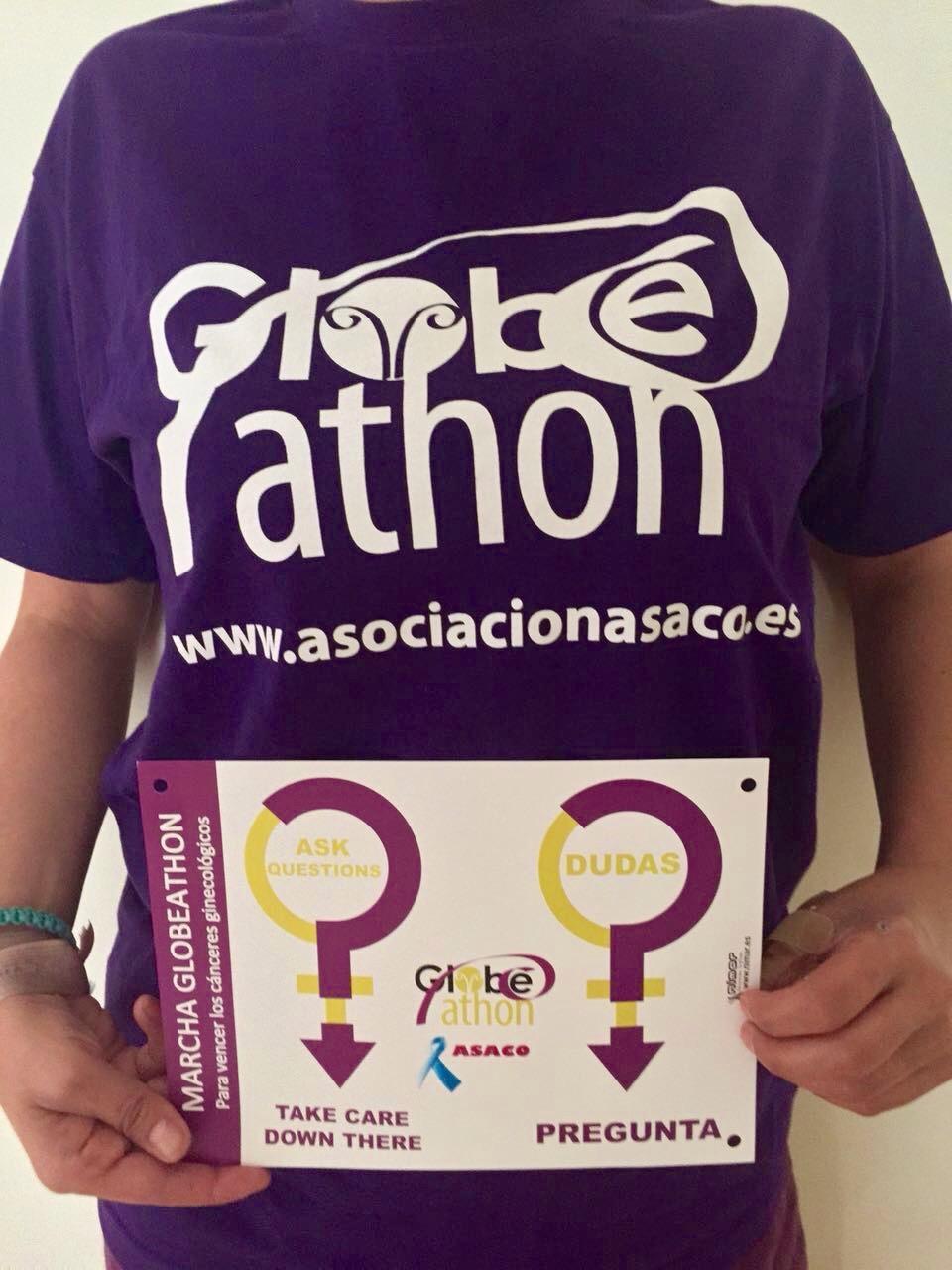 RP Camiseta Globeathon 16 sept 2015
