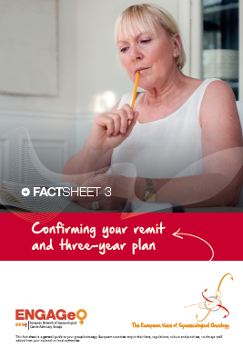 Confirming your remit and three-year plan ENGAGe ASACO ESGO 2015