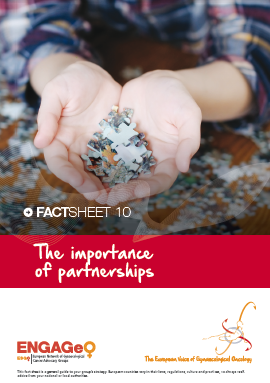 Factsheet 10_The importance of partnerships ENGAGe ASACO ESGO 2015
