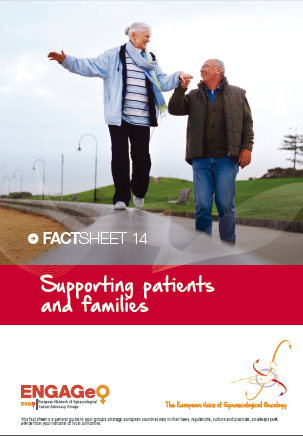 Factsheet 14_Supporting patients and families ENGAGe ASACO ESGO 2015