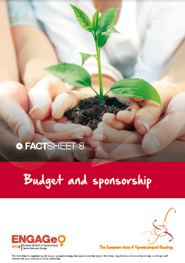 Factsheet 8_Budget and sponsorship ENGAGe ASACO ESGO 2015