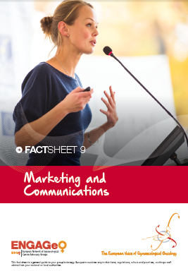 Factsheet 9_Marketing and Communications ENGAGe ASACO ESGO 2015