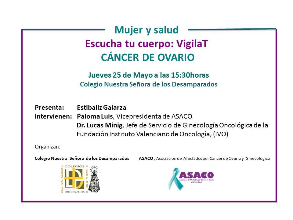charla jueves 25 de mayo Colegio Nuestra Señora de los Desamparados, Valelncia
