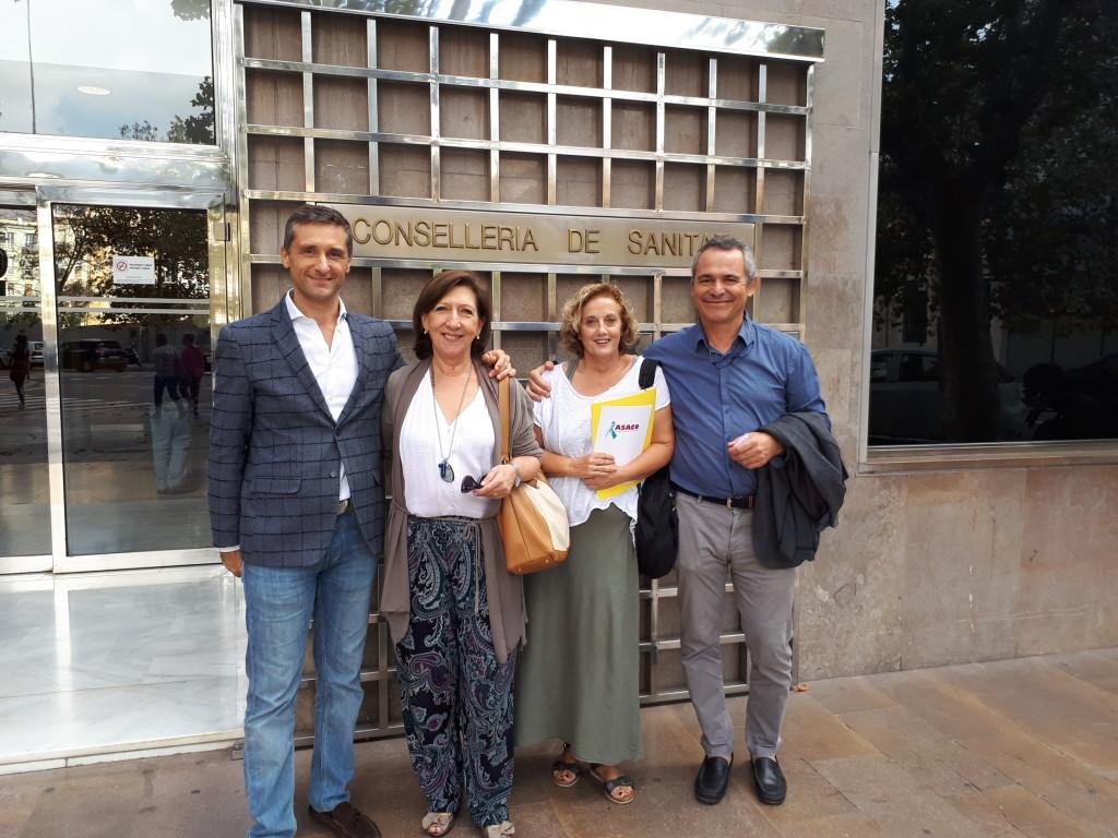 Conselleria de Valencia, 16 octubre 2017
