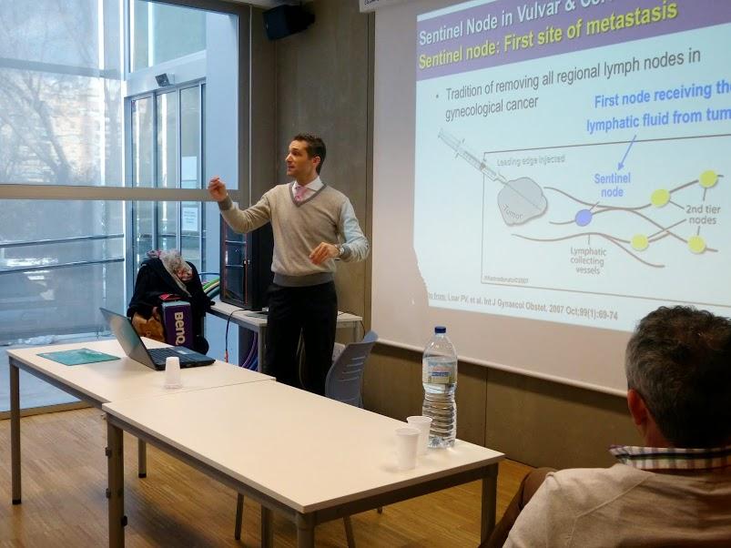 charla en la universidad popular de rovella